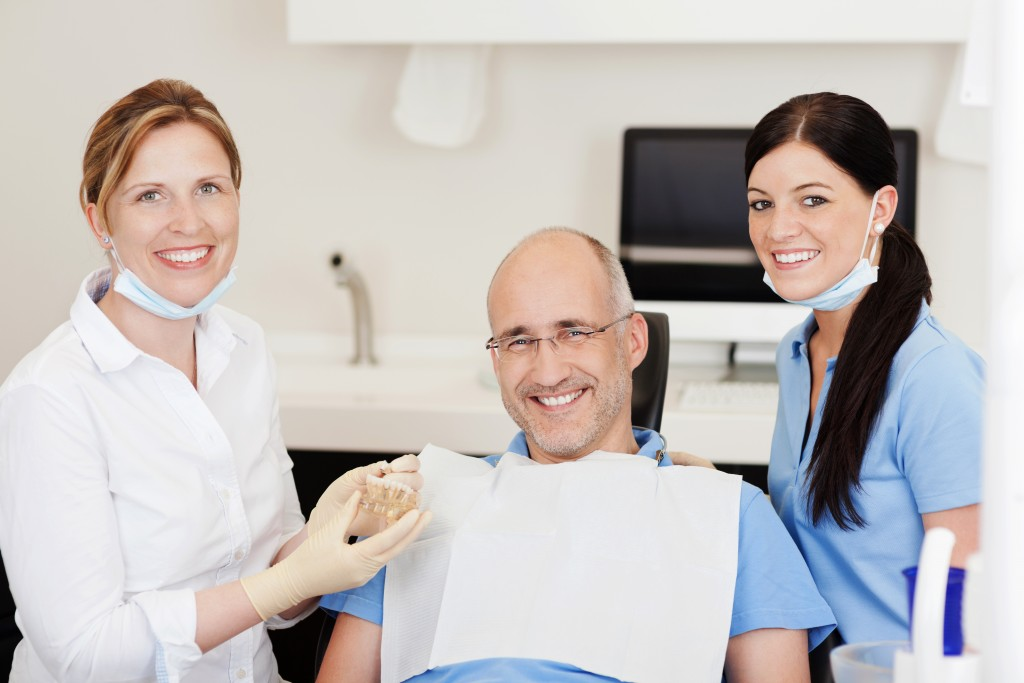 Man will have dental implant