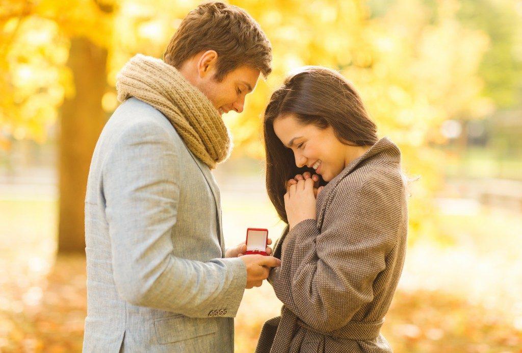 a man proposing