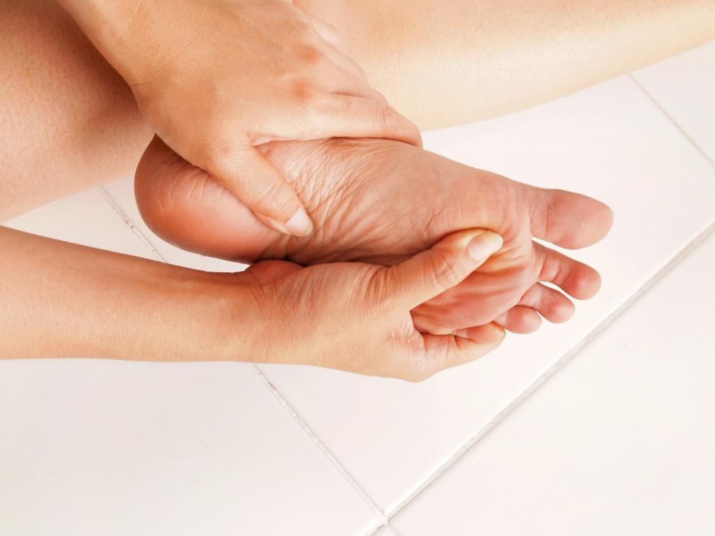 aching foot